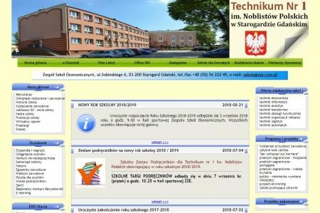 Stara strona WWW szkoły do 31.08.2018