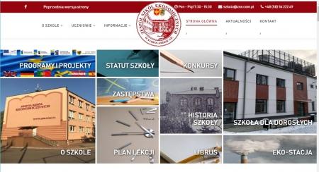 Strona WWW szkoły od 1.09.2018