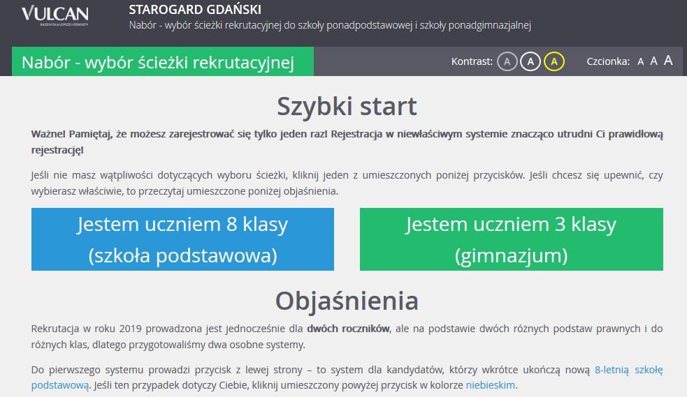 Rekrutacja do Technikum Nr 1 im. Noblistów Polskich