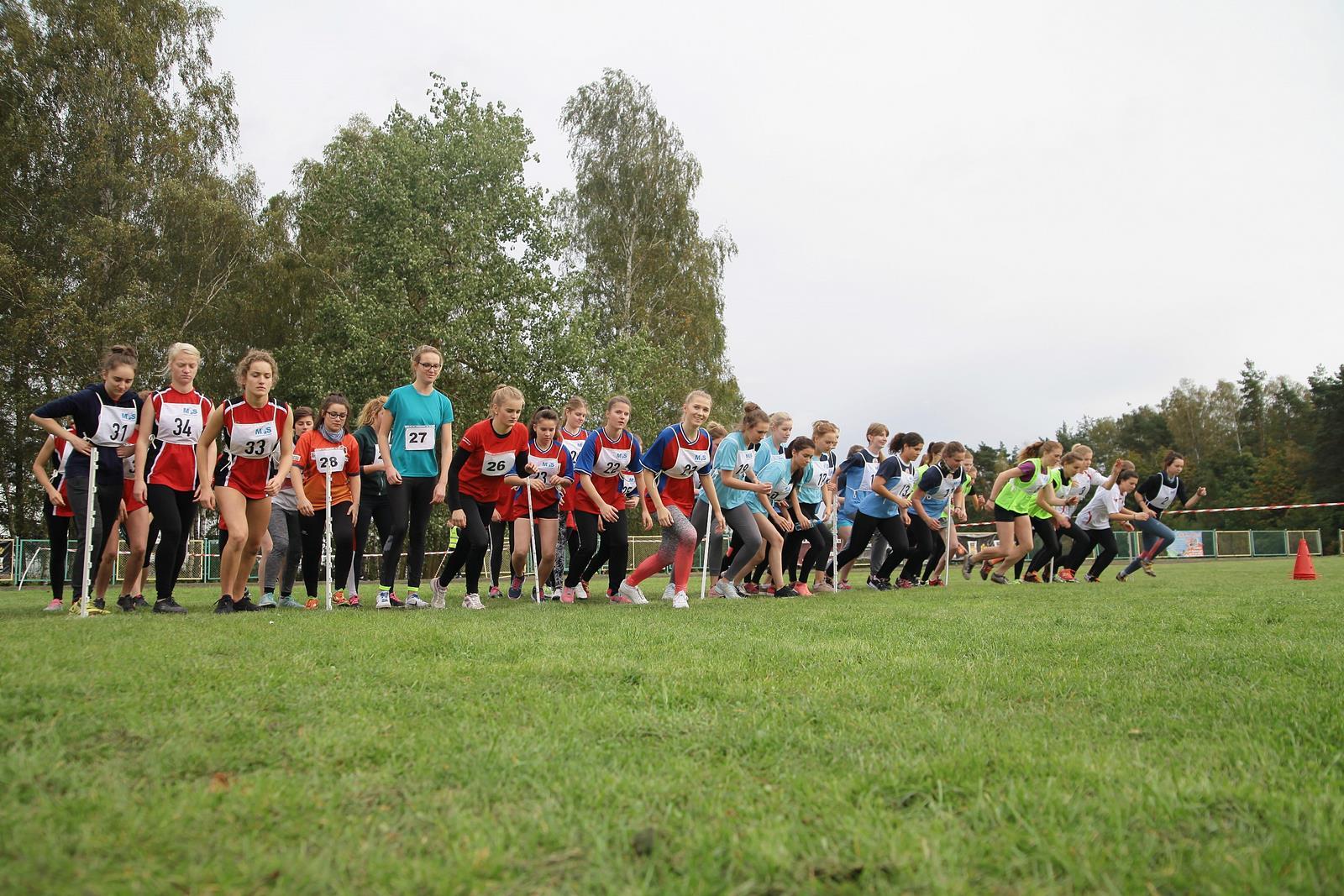 Mistrzostwa Powiatu w drużynowych biegach przełajowych- Skórcz