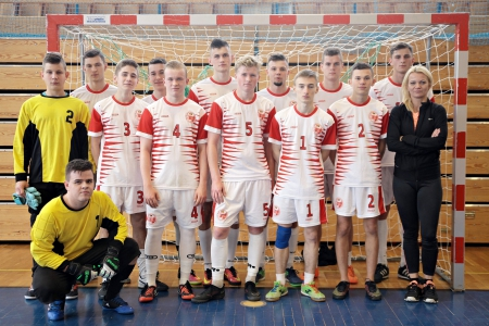 Półfinał Mistrzostw Powiatu w Futsalu chłopców