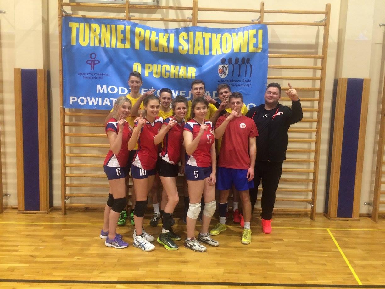 Turniej Piłki Siatkowej o Puchar Młodzieżowej Rady Powiatu Starogardzkiego