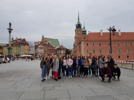 Wycieczka przedmiotowa do Warszawy.