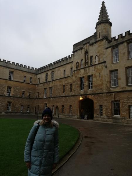 Szkolenie w Oxfordzie - Pani Emilia Kowalska