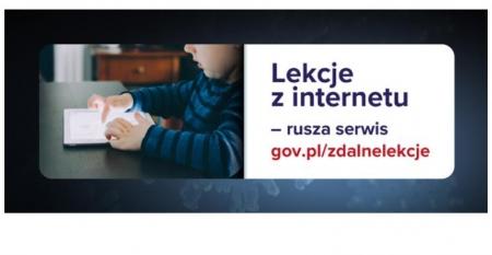 Lekcje z internetu – rusza serwis na stronie MEN