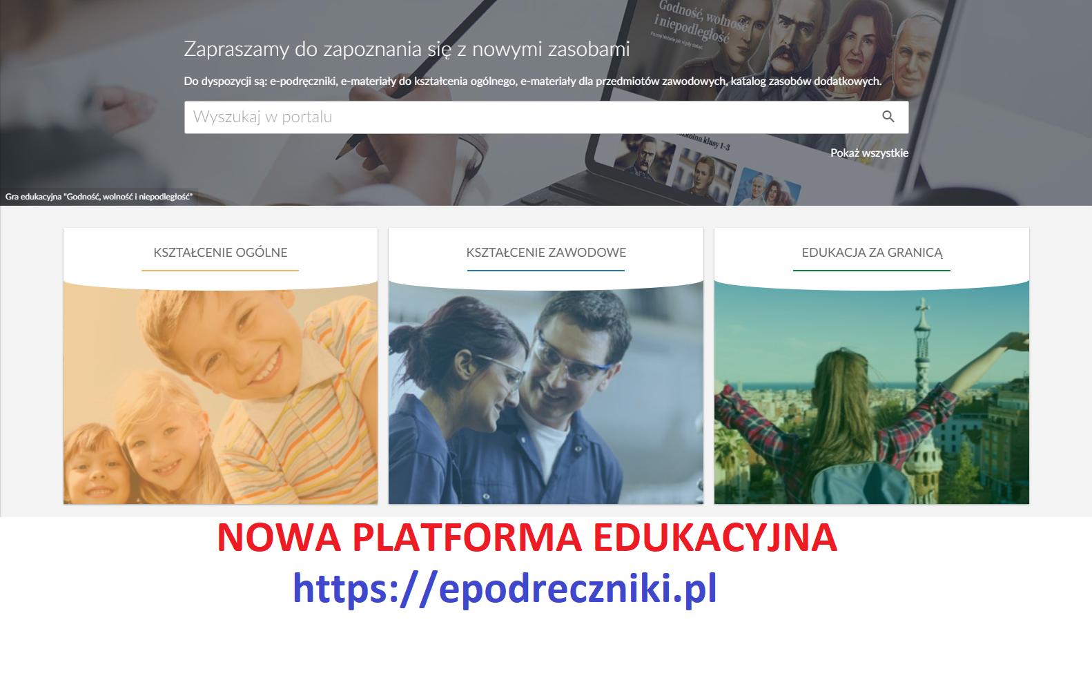 Platforma edukacyjna dla wszystkich uczniów