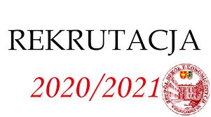 Rekrutacja do Technikum Nr 1 im. Noblistów Polskich - ROK SZKOLNY 2020/2021