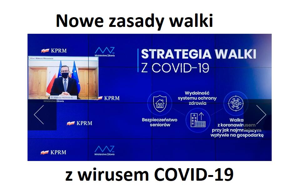 Nowe zasady walki z COVID-19